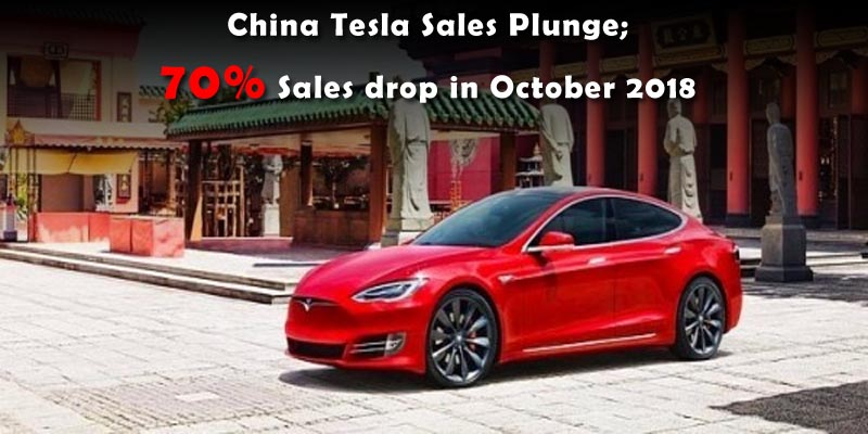 Tesla China Sales Plunge 70 Pct in October - Auto Industry Body