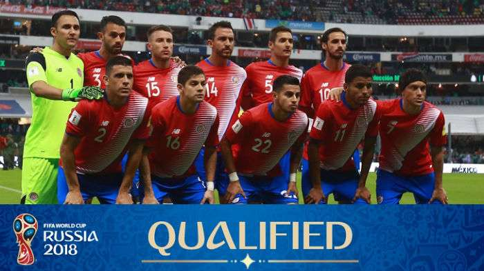 Costa Rica World Cup 2018 squad