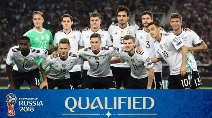 Germany FIFA World Cup 2018 Squad