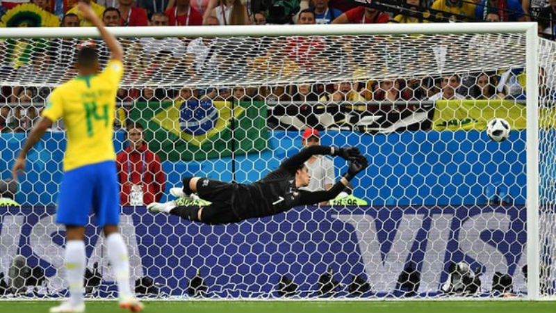 Brazil vs. Switzerland match report
