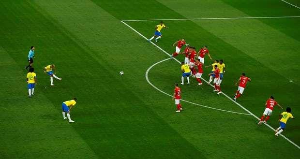 Brazil vs. Switzerland FIFA World Cup 2018