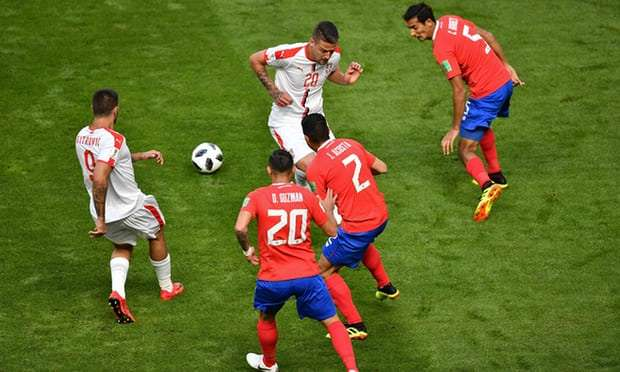 Costa Rica vs Serbia match report