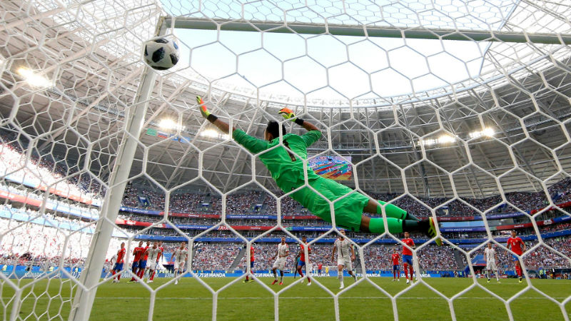 Costa Rica vs. Serbia Match Highlight