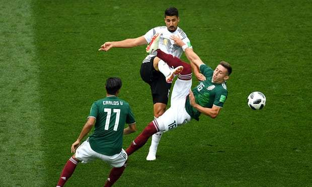Germany vs Mexico match report