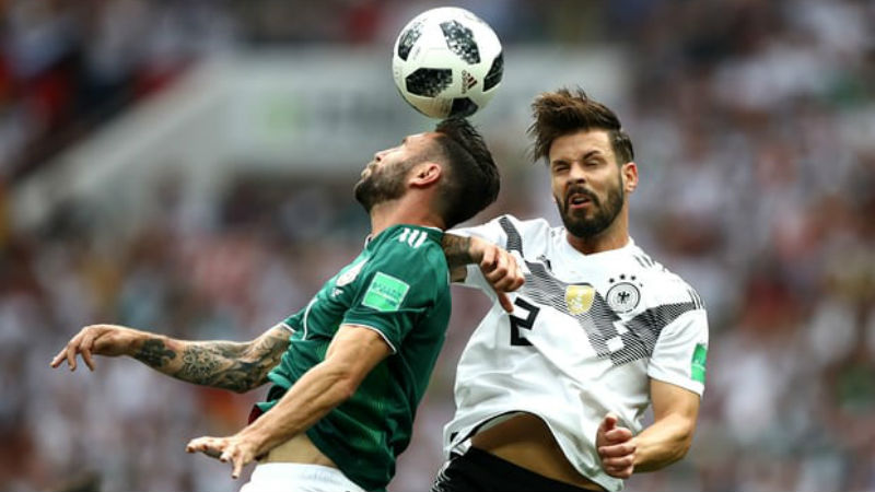 Germany vs. Mexico match report