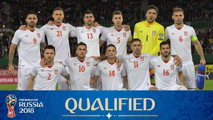Serbia World Cup 2018 Squad