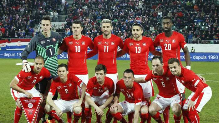 Switzerland FIFA World Cup 2018 Squad