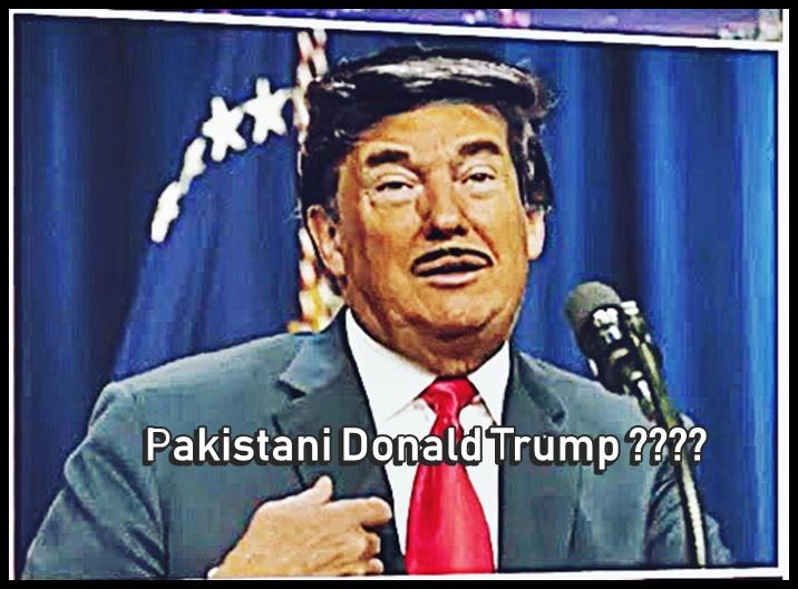 Pakistani Donald Trump, Imran Khan, Trevor Noah