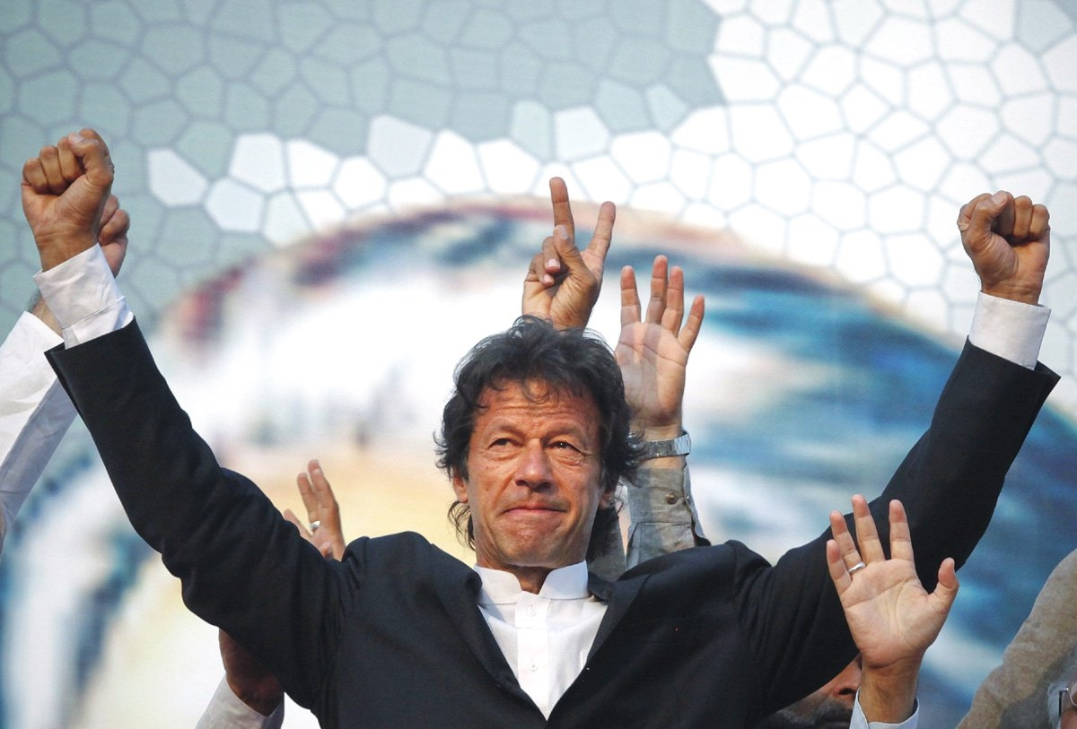imran khan won , imran khan new pm of pakistan , 22nd prime minister of Pakistan
