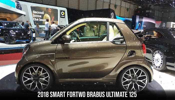 2018 Smart ForTwo Brabus Ultimate 125, the weirdest cars ever produced