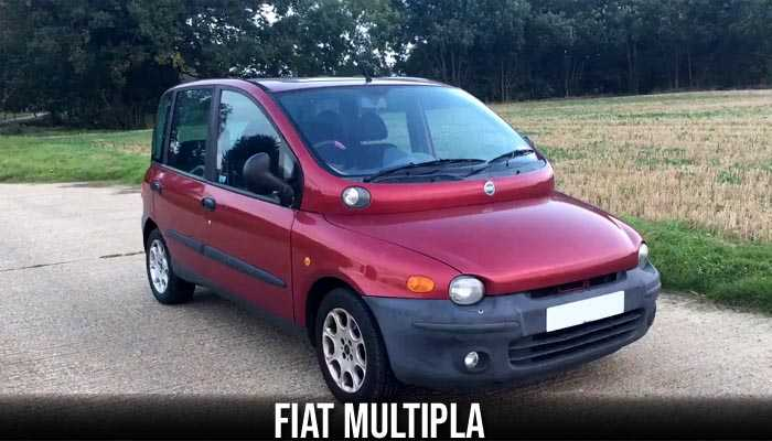 Fiat Multipla, The weirdest cars ever produced