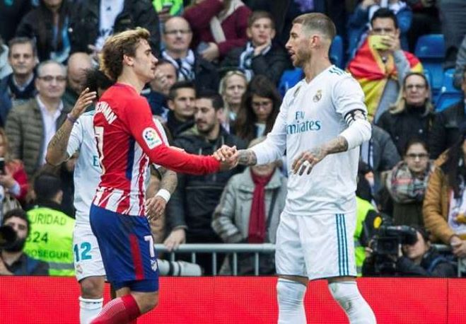 Sergio Ramos dig at Antoine Griezmann over Messi and Ronaldo claim