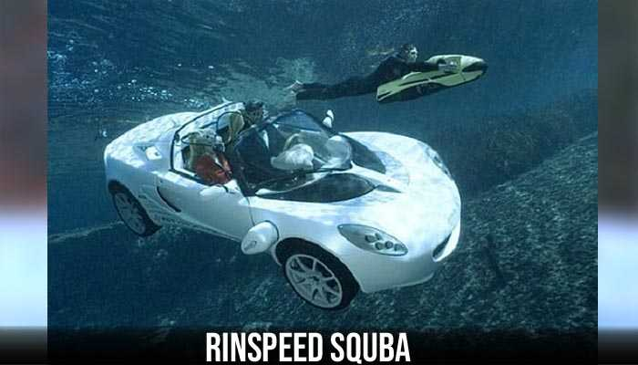 Rinspeed sQuba,The weirdest cars ever produced,