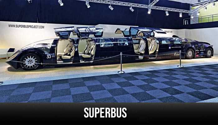 Superbus, the weirdest cars ever produced