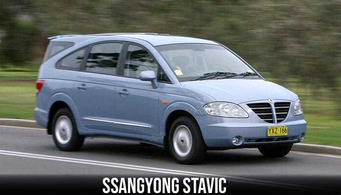 Ssanyong Stavic, The wierdest cars ever produced