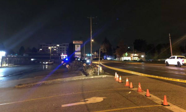 Delta police closed the 120th St