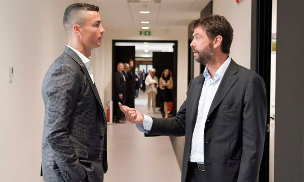 Agnelli offers support to Cristiano Ronaldo