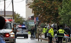 Trump condemns Pittsburgh synagogue shooting