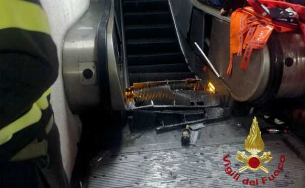 Rome Escalator Accident