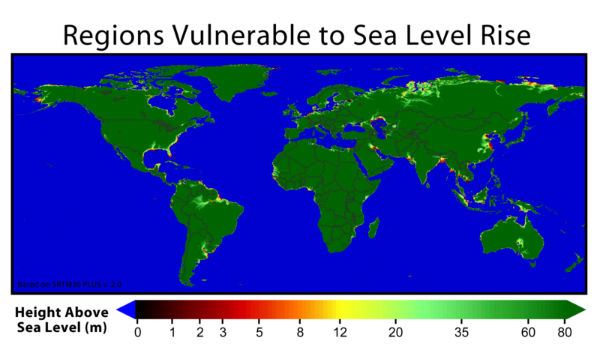 Global sea level Rise due to Global Warming