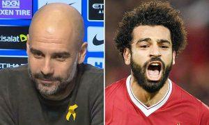 Pep Guardiola compares Salah to Aguero