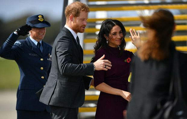 Duke of Sussex Prince Harry and Duchess of Sussex Meghan Markle