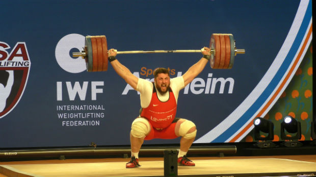 World Weightlifting Championships 2017 Male Medalists