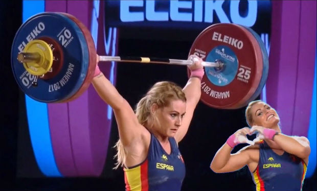 World Weightlifting Championships 2017 Female Medalists