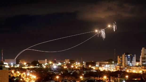Israel Fighters attack Gaza