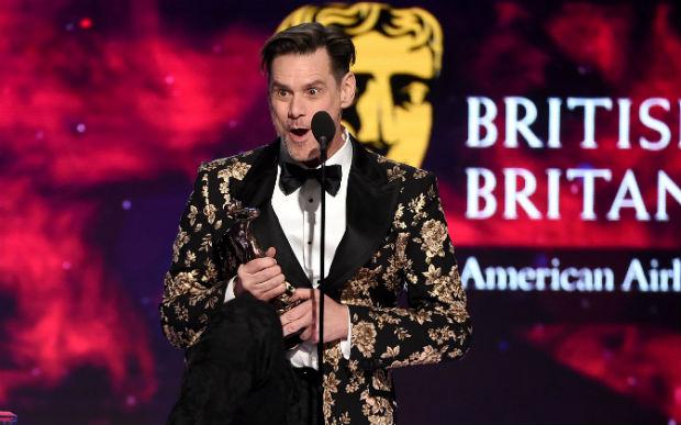 Jim Carrey at the Britannia Awards