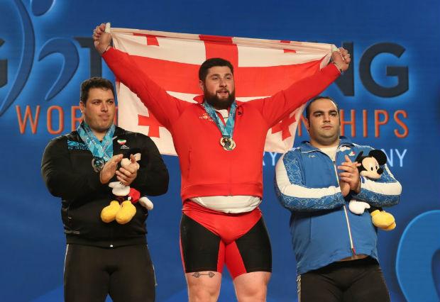 World Record of Lasha Talakhadze