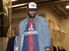 LeBron James wears Beto O'Rourke hat