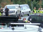 Limousine car crash in New York