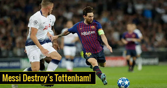 Tottenham Hotspur vs. Barcelona - Football Match Report