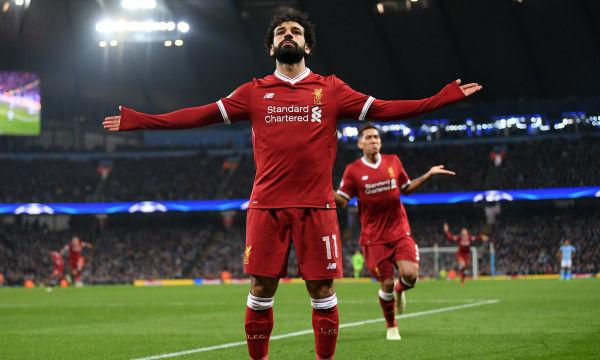 Mohamed Salah's 50th Goal for Liverpool