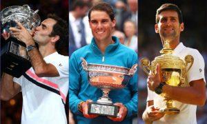 Nadal On Federer and Djokovic