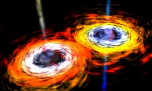 Scientists spotted the merge of Supermassive Black Holes