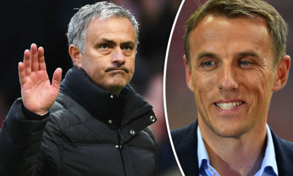 Phil Neville backs Jose Mourinho