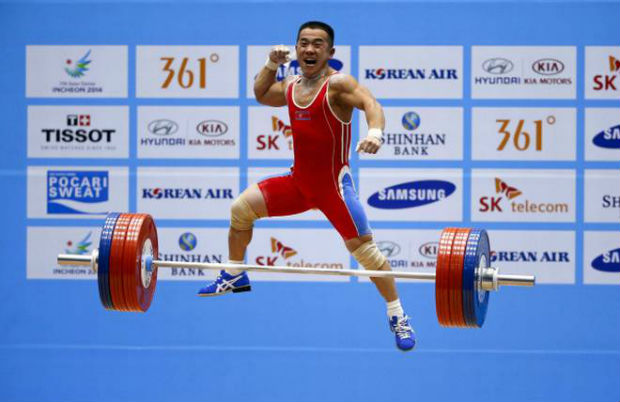 World Record of Om Yun-chol