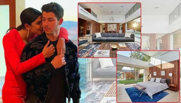 Priyanka Chopra and Nick Jonas Beverly hills mansion