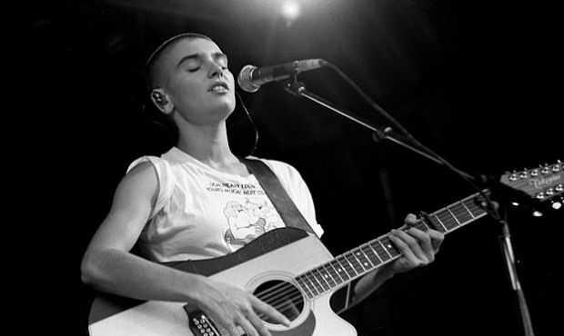 Irish rockstar Sinead O'Connor