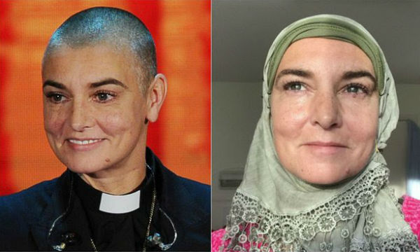 Irish rockstar Sinead O'Connor coverts to Islam