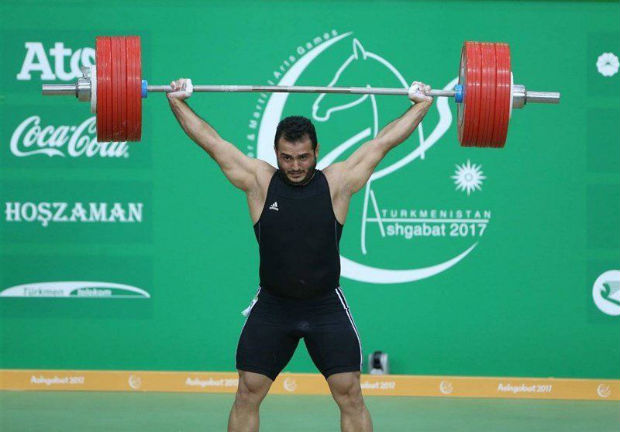 World Record of Sohrab Moradi
