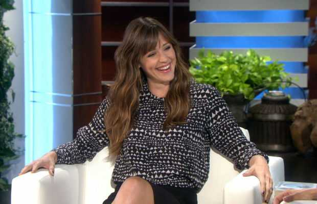 Jennifer Garner at The Ellen DeGeneres Show