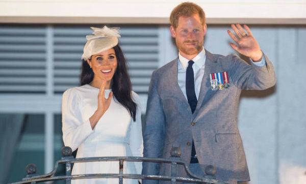 Meghan Markle and Prince Harry at Fiji