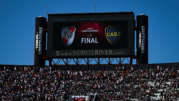 River Plate vs Boca Juniors Final