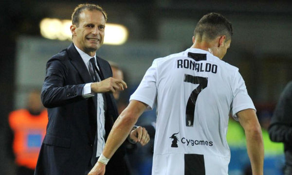 Allegri is unhappy with Juventus