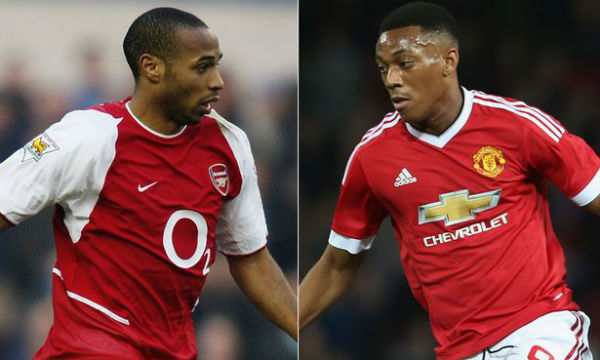 Anthony Martial Praised Thierry Henry