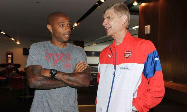 Arsene Wenger backs Thierry Henry