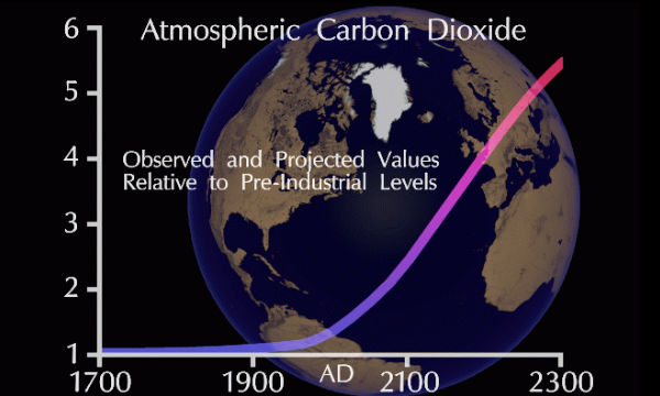 UN issued warning for Carbon dioxide